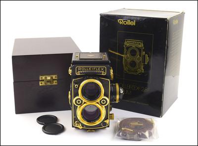 禄莱 Rolleiflex 2.8F AURUM 黄金 纪念机 新品收藏 未使用品