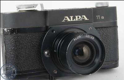 产量稀少的世界级收藏机:瑞士ALPA 11a(用于多国邮局)