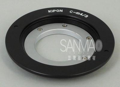 C-m4/3 16mm电影镜头转G1 GF1 E-P1系列