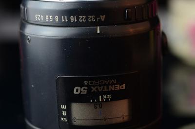宾得SMC FA50/2.8 Macro 微距 50/2.8