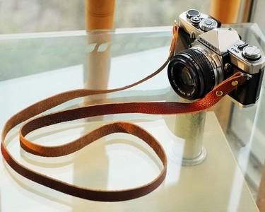 牛皮相机肩带  腕带