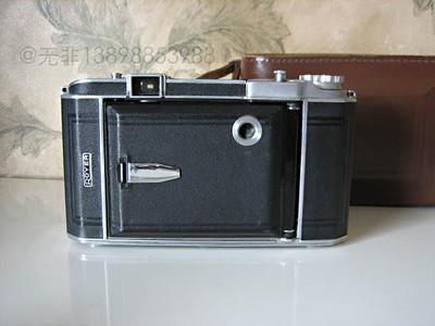 法国royer 安琴100mm/3.5镜头 6x9 折叠机带原厂皮盒
