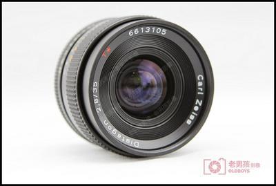 35mm/f2.8 AEJ carl zeiss 蔡司 康泰时 35/2.8 有佳能口转接环