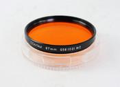 Contax 康泰时 056(02)MC  67mm   橙镜  滤镜
