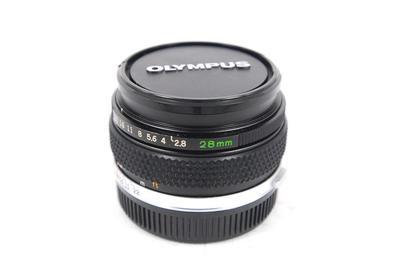 奥林巴斯 Olympus 28/2.8 广角定焦,手动对焦,OM卡口.可转接使用.