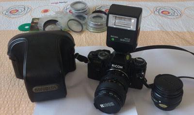 理光XR-7单反胶片套机,28.70变焦