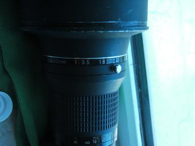 Nikkor IF-ED400mm F/3.5 AI-S AIS 镜头