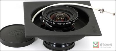 施耐德58mmf/5.6超级安固XL镜头 -110度 MULTICOATING 座机镜头