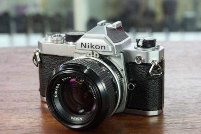 尼康FM套 50 1.4镜头 传统相机 胶卷相机