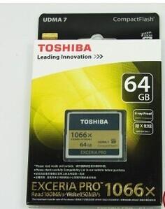 东芝  TOSHIBA  CF 高速卡  64G 1066X