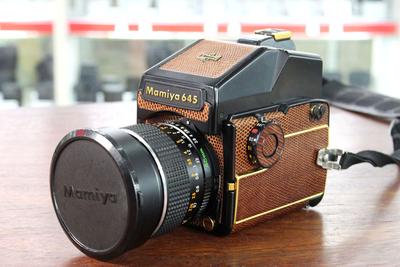 玛米亚645 1000S套45/2.8镜头 传统相机 胶卷相