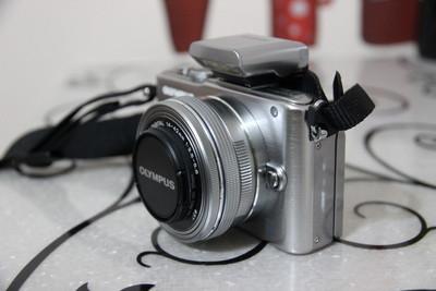 EPL3机身14-42电动头9mmF8.0鱼眼