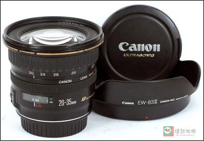 佳能 EF20-35/3.5-4.5 USM 镜头【支持全幅】编号43004731