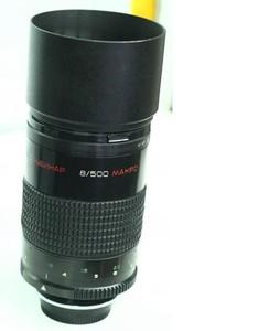 哈尔滨出售俄罗斯鲁比纳尔500/f8镜头带尼康转接环 折返镜头
