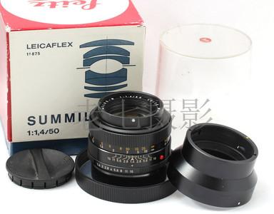 Leica/徕卡 Summilux R50/1.4  一代 E48 好成色 L00823