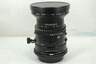 玛米亚 Mamiya 75/4.5 SHIFT L 移轴镜头,RB67或RZ67用.