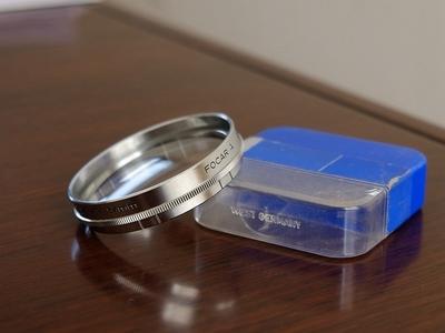 福伦达Voigtlander原厂 54mm卡口式滤镜,UV镜