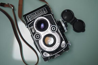 Rolleiflex 3.5F Planar 6片版,赠背带