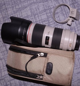 佳能70-200mm f/2.8L IS II 小白兔