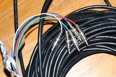 视频分量线 可做5路视频或音频共110米 可分卖