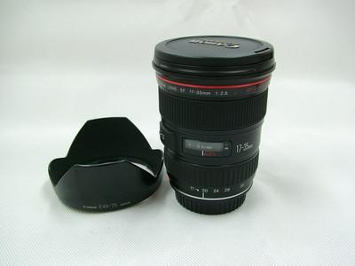 CANON EF 17-35/2.8L+原厂遮光罩 红圈镜头