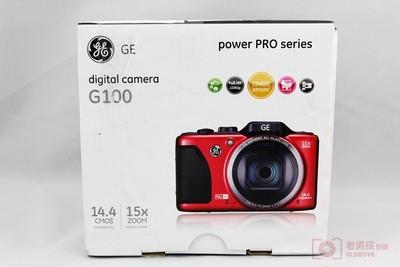 █★老男孩影像★█GE/通用电气 G100 15倍光学变焦数码相机高清家用数码相机照相机