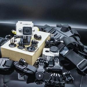 小蚁运动相机旅行版带防水/散热壳、头/胸带、收纳包等38件套