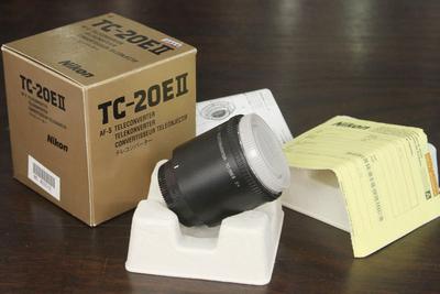 尼康TC-20EII 2X增距镜 尼康2倍增距镜 二代二倍增