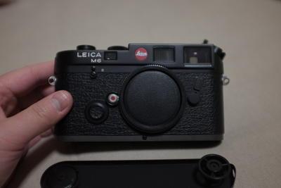 Leica M6 Classic 0.72 黑色 92新