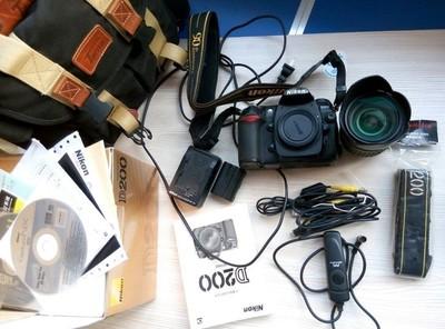 转让 尼康D200单反相机 腾龙A16 17-50 F2.8