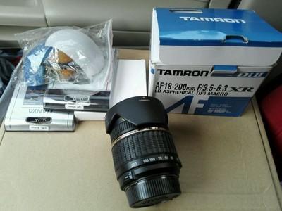 腾龙 18-200 尼康口 镜头 超多配件 顺丰包邮 A14