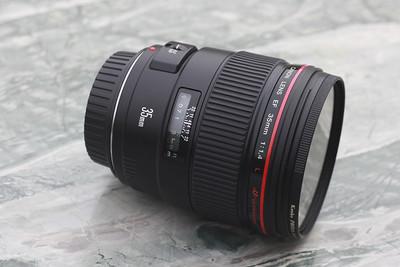 佳能 红圈 CANON EF 35mm F1.4 L
