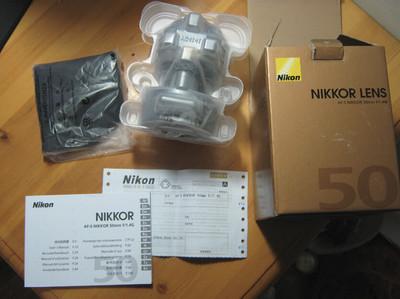 出售全新尼康 50 1.4G 镜头 、沃龙闪光灯、沃龙引闪器