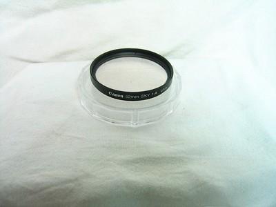 佳能 原厂 UV镜  52.M ,67M