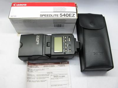 99新带包装佳能540EZ顶级闪光灯
