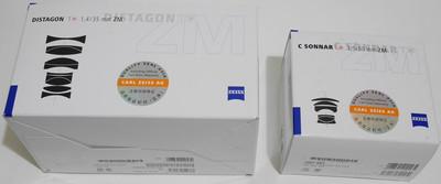 北京出全新大陆行货 蔡司ZM35/1.4和ZM50/1.5