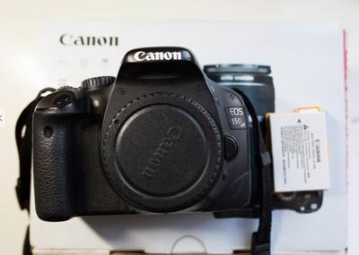佳能550D单反数码相机,单机身包邮出