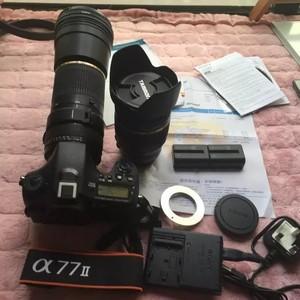 索尼A77II+腾龙17-50VC+腾龙200-500长焦镜