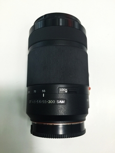 97新 索尼55-300 F4.5-5.6 SAM 单反镜头