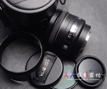 MINOLTA 美能达 AF 85/1.4G 85mm f1.4