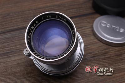 佳能 50/1.9 伸缩版 Canon SERENAR 50mm F1.9 L39螺口版 48479