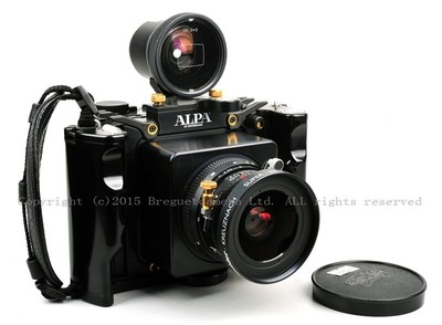ALPA  12WA带施耐德super 80/4.5带取景带玛米亚68背  #X00621