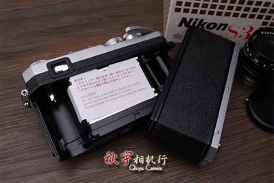 【千禧年复刻版】尼康 NIKON S3 + NIKKOR-S 50/1.4 未使用品 全套带盒