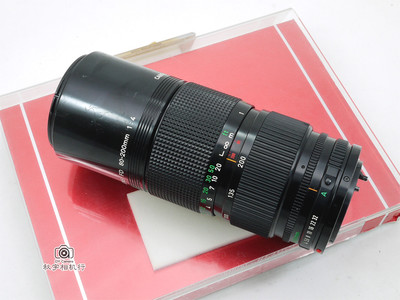 店庆88折!佳能中焦变焦 Canon FD 80-200mm F/4【良品】73683