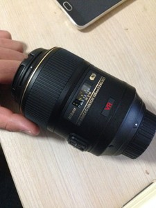 尼康(Nikon) AF-S VR 105mm f/2.8G IF-ED 自动对焦微距镜头S型