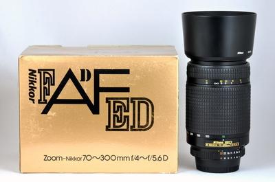 【尼康】AF 70-300/4-5.6 D ED 金牌ED版本