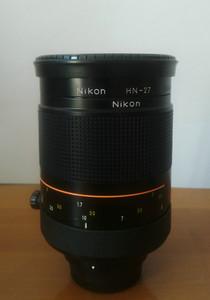 Nikon 500/8 橙圈带微距折返