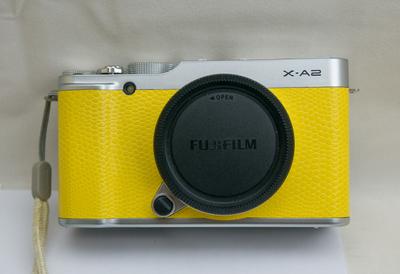 富士黄色X-A2