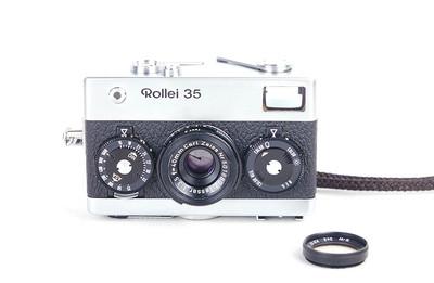 【小珍品】Rollei/禄来 35 w/ Tessa 40/3.5 德产相机 #jp17828