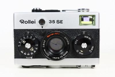 禄来 Rollei 35SE 135胶片旁轴相机 Sonnar 40/2.8镜头 萌物
